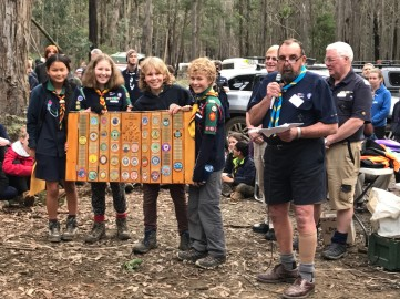 1st elwood scout hike2